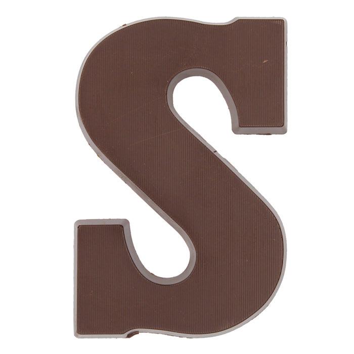 Chocoladeletter Visser 75%