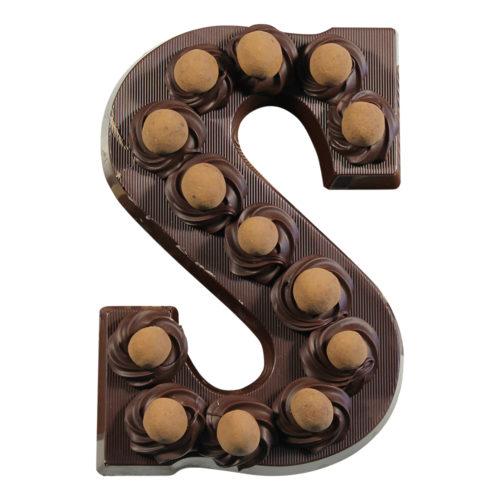 Visser Chocoladeletter Crispy Bollen Puur