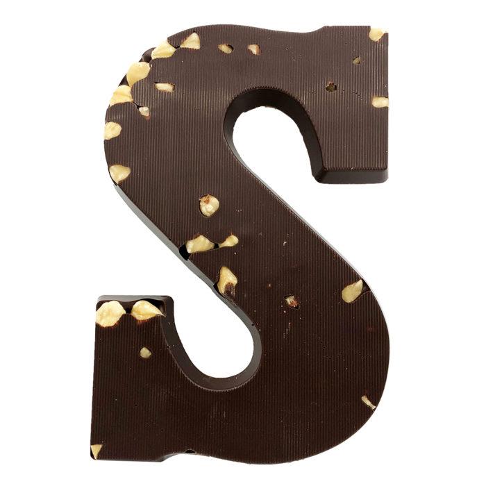 Chocoladeletter Visser Hazelnoten Puur