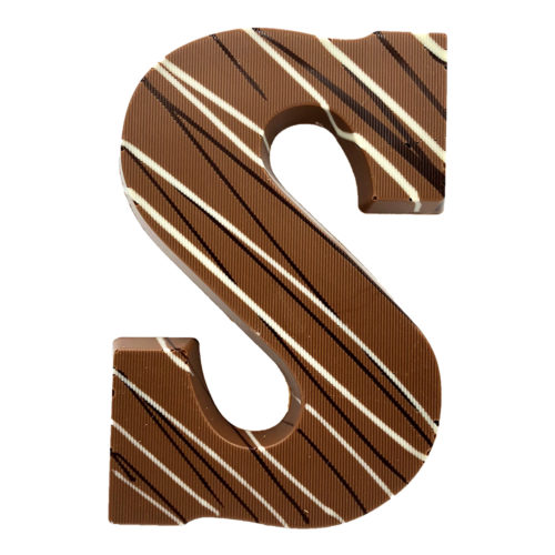 Chocoladeletter Visser Praline Melk
