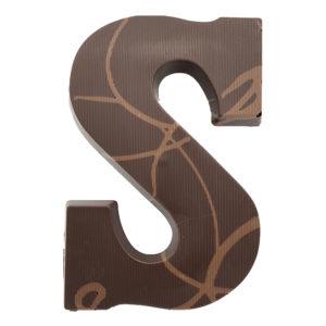 Visser Chocoladeletter Puur