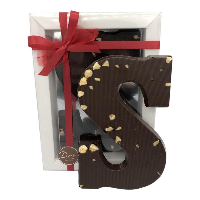 Visser Chocoladeletter Hazelnoten Puur