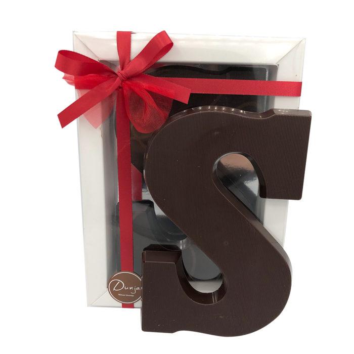 Visser Chocoladeletter 75% Puur
